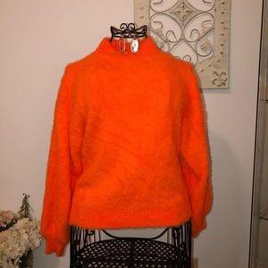 Sweaters - Mink Mock Turtleneck Sweater